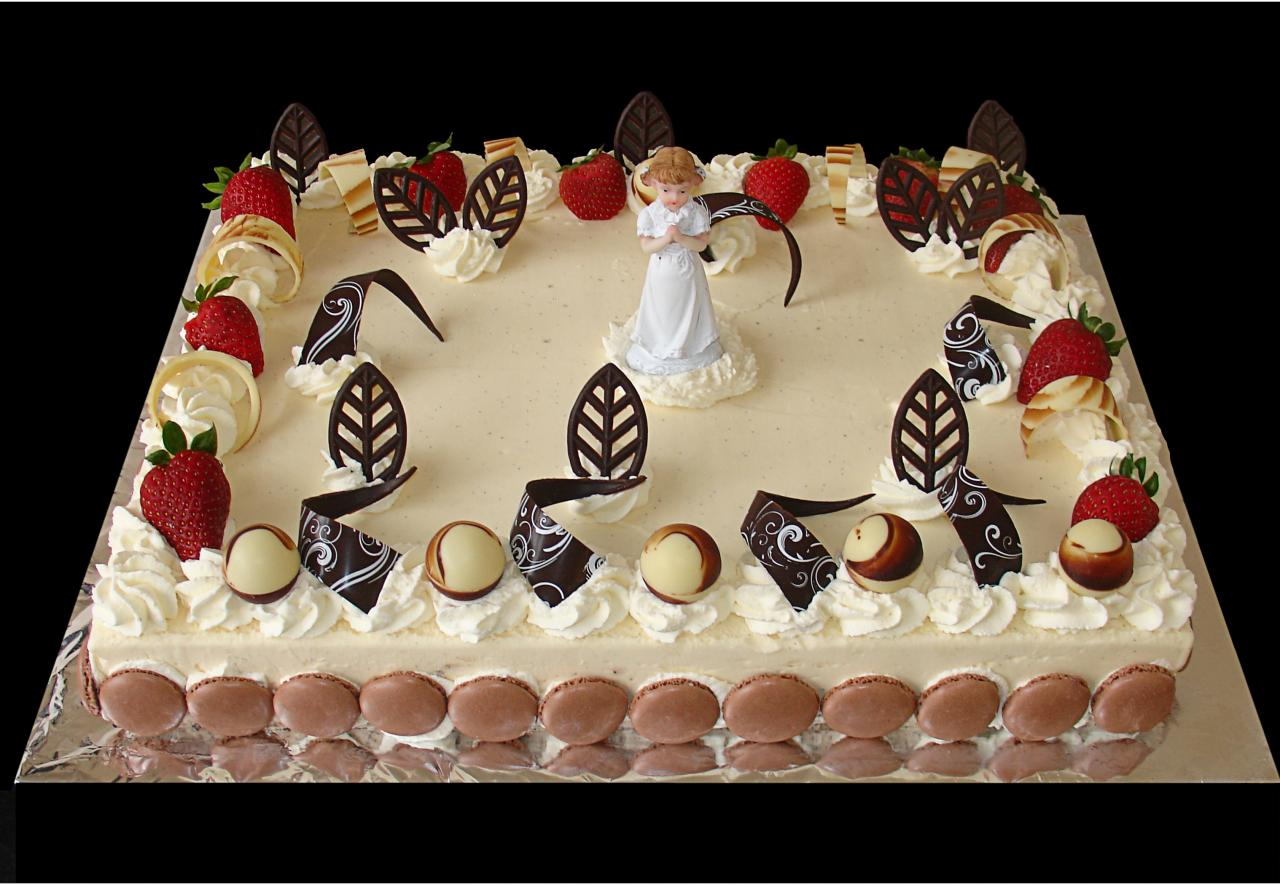 Gâteau glace communions