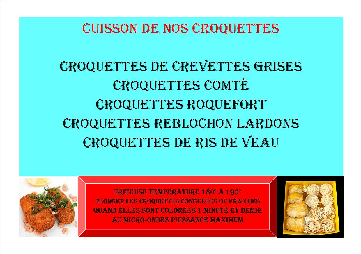 Cuisson croquettes 2