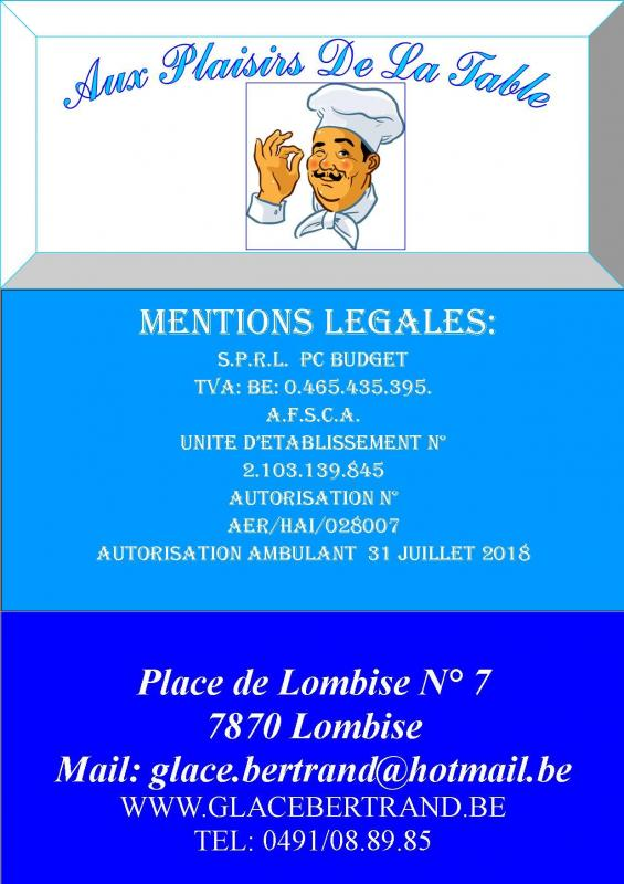 Mentions legales 1