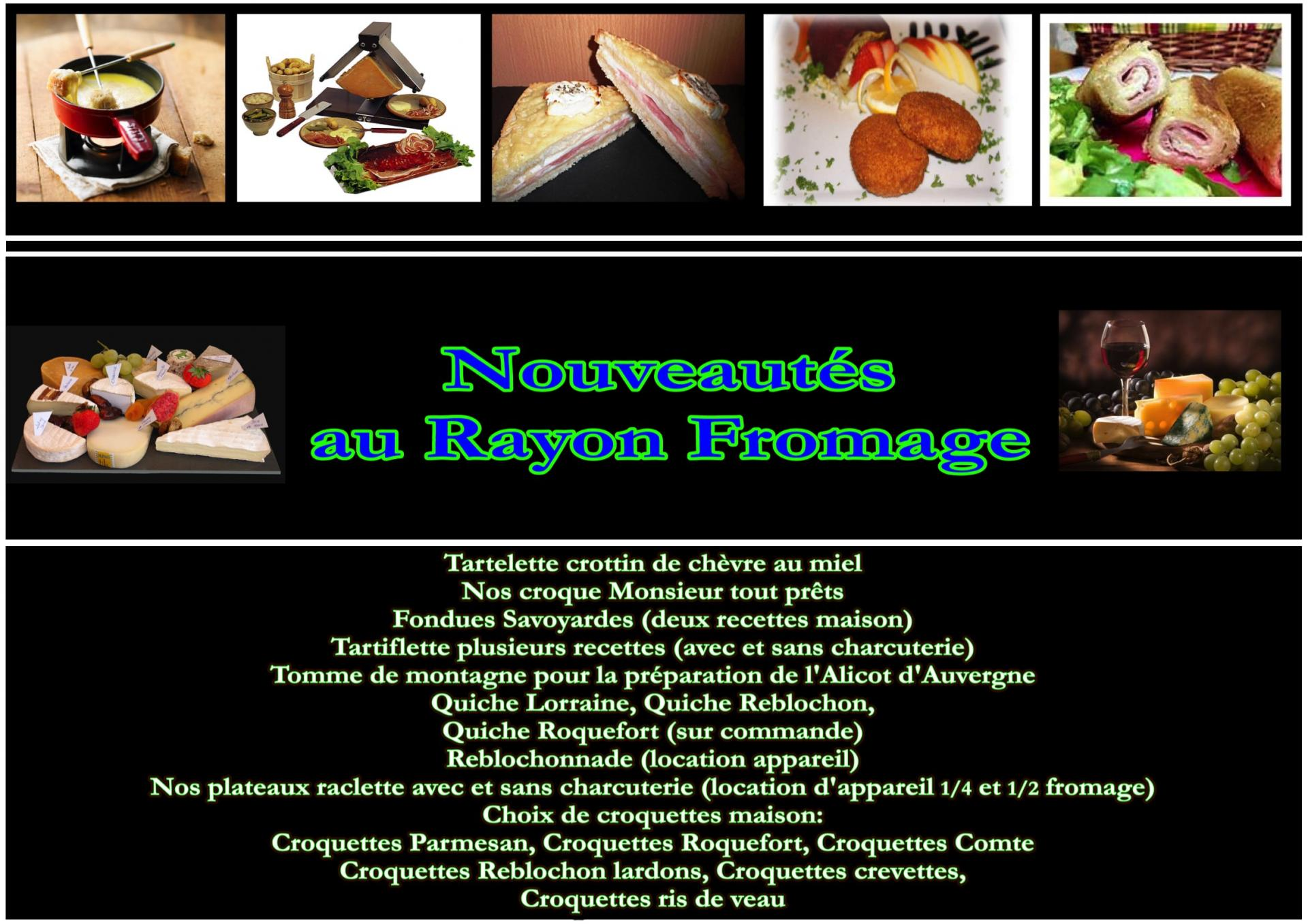 Nouveautes fromage 2016